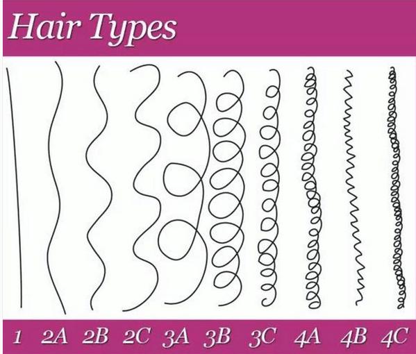 انواع موی انسان